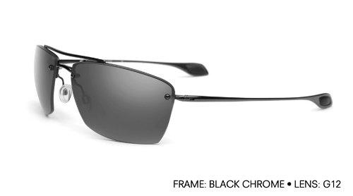 05cd7e9d86 Kaenon Spindle S5 Men s Polarized Fashion Sunglasses - Black ChromeGrey 12  One Size Fits All
