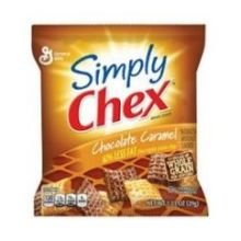 Simply Chex Chocolate Caramel Cereal Pieces, 1.03 Ounce -- 60 Per Case.