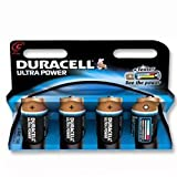 Brand New. Duracell Ultra Power MX1400 Battery Alkaline 1.5V C Ref 81235528 [Pack 4]