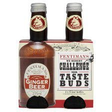 Fentimans Traditional Ginger Beer 4 X 275ML