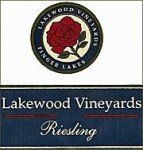 2011 Lakewood Vineyards Riesling 750 Ml