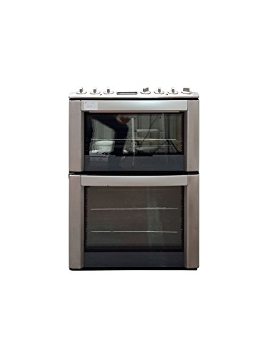 Electrolux EKC6562AOX 60cm Double Oven Electric Cooker With Ceramic Hob Stainless Steel - Z 1502568