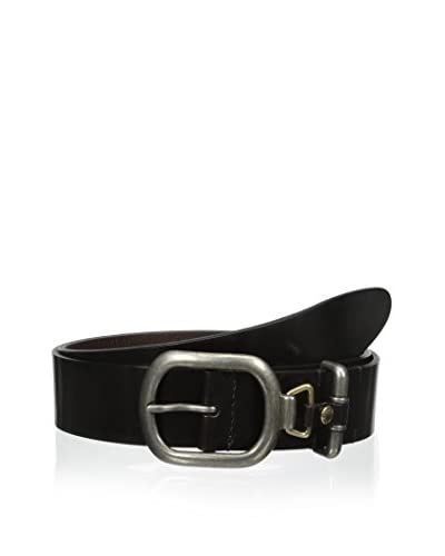 Dolce & Gabbana Men's Cintura Asta Dritta Cuoio Lucido Belt