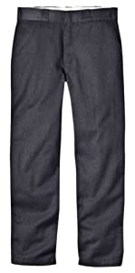 Dickies Mens Original 874 Work Pant, Dark Brown, 28x30