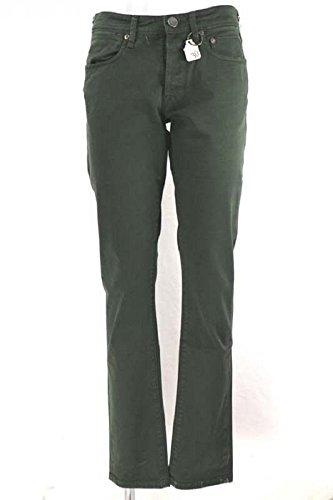 pantaloni donna WHITE SIVIGLIA size 30 verde cotone AR545