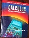 Calculus: Graphical, Numerical, Algebraic - Single Variable Version (020155478X) by Finney, Ross L.