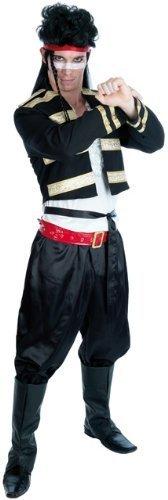 80s Adam Ant New Romantic Male Fancy Dress Costume - XL (UK 46-48) by Parties Unwrapped Ltd