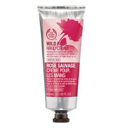 The Body Shop Hand Cream, Wild Rose, 3.3 Fluid Ounce from The Body Shop