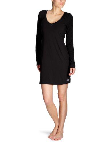 Calvin Klein Underwear Damen Nachthemd S2455E, Gr. 36 (S), Schwarz (001 Black)