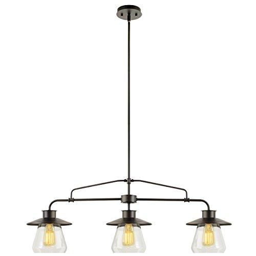 globe-electric-64845-3-light-vintage-pendant-with-clear-glass-shades-oil-rubbed-bronze-finish