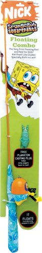 Zebco Spongebob Floating Fishing Rod and Reel Combo