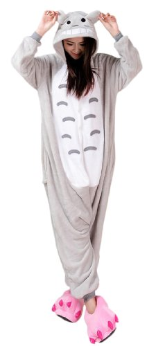 Grey Cat Kigurumi Costume
