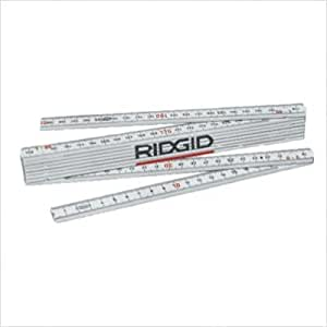 Ridgid Tools 81280 1602 2-meter Fiberglass Folding Metric Rule