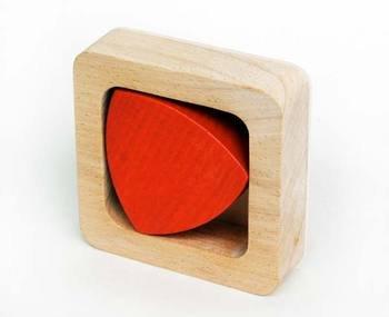 ルーローの三角形 数学的木のおもちゃ・知育玩具