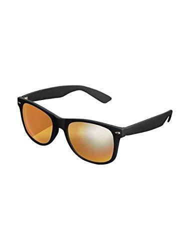 Masterdis Mstrds Shades Likoma Mirror Sunglasses UV400 Occhiali da Sole Specchiati Colore black/orange