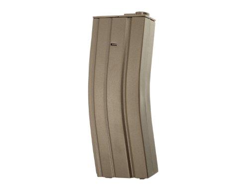 GFC M4 / M16 MilSim Magazine (30 BBs) for Airsoft AEGs like M4, M16, SCAR, etc.. - TAN