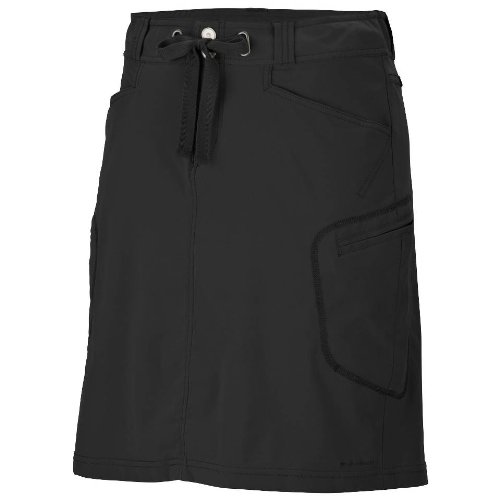 Columbia Women&#8217;s Plus Size City Slickerz Skirt &#8211; Black 20W