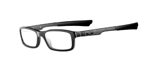 9f1808bc2e Oakley Bucket Man s Eyeglasses Frame  Polished Black Color 51mm Size
