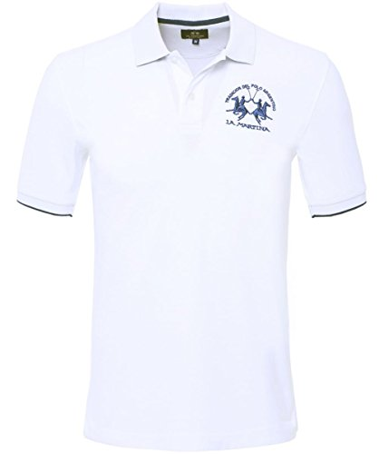 la-martina-plain-polo-shirt-white-l