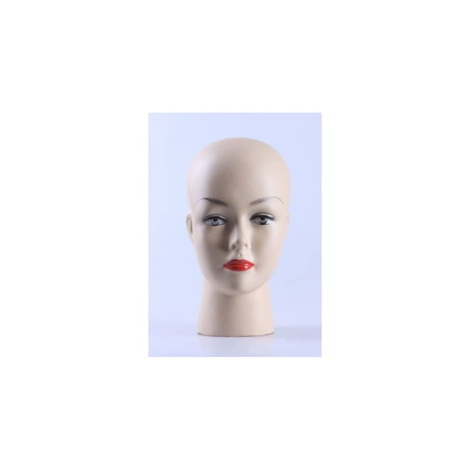 New Female Mannequin Head Display Bust For Jewelry, Wigs and Hats H12499