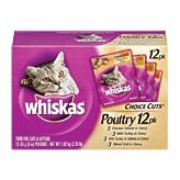 Image of Whiskas Choice Cuts Poultry Menu Variety Pack, 2.25-Pound
