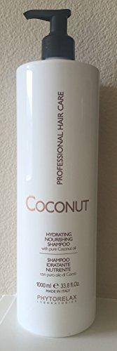 Phytorelax Coconut Hydrating Nourishing Shampoo, 33.8 Oz. by Phytorelax