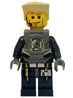 Agent Swipe - LEGO Agents Minifigure Amazon.com