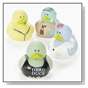 Vinyl Zombie Rubber Duckies