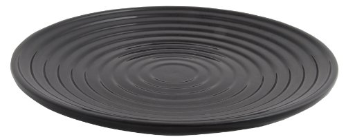Esschert Design FB183Z Large Ceramic Birdbath, Black