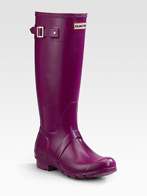 Wonderful Women39s Rain Boots Snow Winter Faux Fur Top Wellies Mid Calf Rubber
