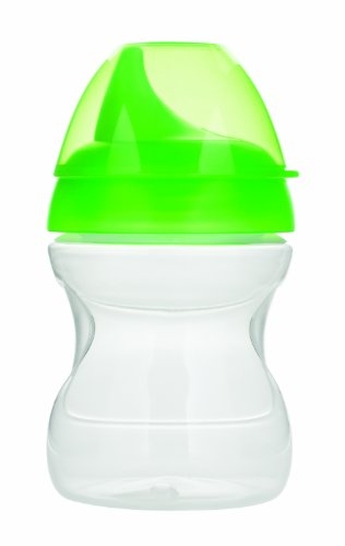 MAM Learn to Drink Training Cup, Yellow,Green, 9 Ounce