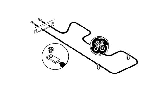 Electric Stove Oven Element back-25522