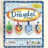 The Dreidel Game - Set of 4 Painted Wood Dreidels