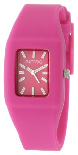 RumbaTime Women's Greenwich Cotton Candy Watch