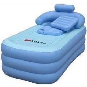 Baignoire gonflable pliable et portable ,baignoire spa tub / / en gros, vente au détail / / bleu