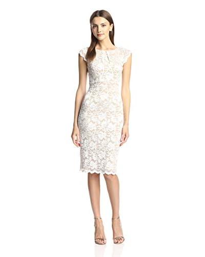 A.B.S. by Allen Schwartz Women's Ivory Lace Dress