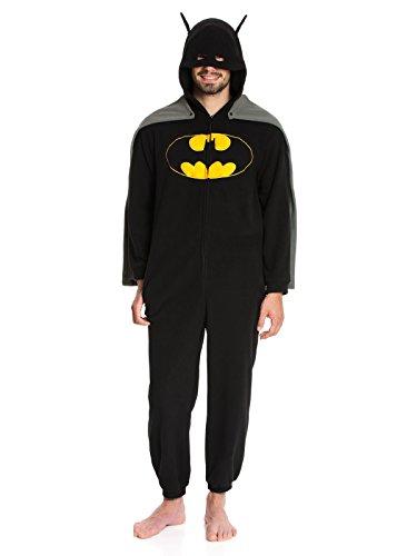 Batman Caped Overall Tuta nero S