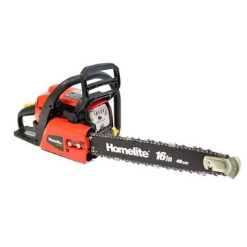 "Homelite Refurbished UT10568 16"" Bar Gas Powered 38cc 2 Hp 2 Cycle Chain Saw Tree Chainsaw"