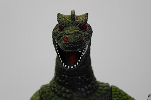 [Haruo Naka Jima The Man In The Original Godzilla Costume 1954-72 Signed Toy Godzilla (Signed in] (Costume Conventions California)