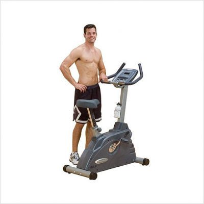 Endurance B2.5U Electronic Upright Exercise Bike 