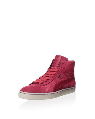 PUMA Men's Suede Classic Plus Mid Rebel Mix Sneaker