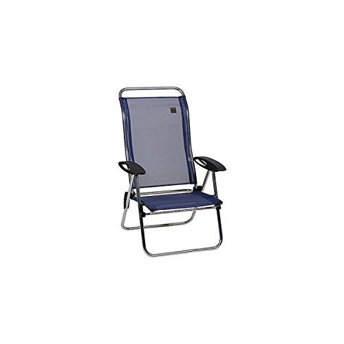 Lafuma LFM2337 3865 Low Elips Aluminum Folding Beach Chair with Adjustable Ba