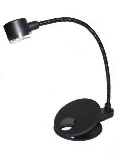 USB Flex Neck Reading Light (Soft Touch Black)