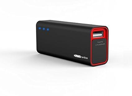 Portronics-Mini-2600mAh-Power-Bank-(Black/Red)