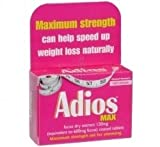 Adios Max Slimming Tablets [Personal Care]