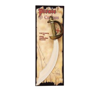 California Costume Collection Unisex Adult Pirate Cutlass Silver One Size