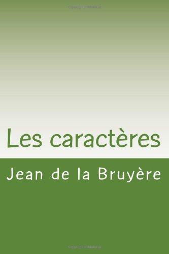 Image of Les Caractères