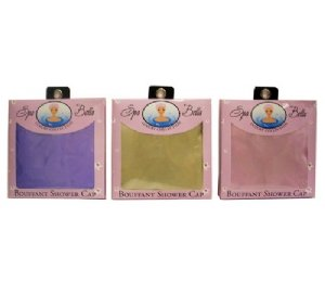 Swissco Bouffant Satin Shower Cap Solid Assorted Colors
