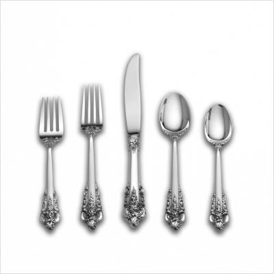 Grande Baroque 5 Piece Table Setting in Continental Size