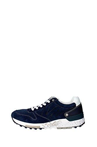 Wrangler WM161092 Sneakers Uomo Camoscio Blu Blu 41